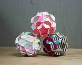 DIY Paper Kit - Paper Crafts - Party Favors - Bridal Gifts - Homeschooling Kits - Wedding Decor - DIY Decor - Paper Kit - Paper Balls