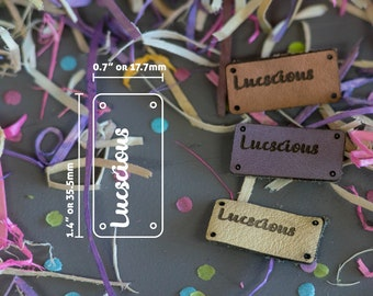 Knitting Tags - Hem Tags - Crochet Tags - Sewing Tags - Leather tags - Garment Tags - Product Tags - Knitting Labels - Item Labels -  TOWERS