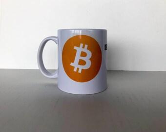 Coffee Mug - Bitcoin - Cryptocurrency - Screw the Man - Decentralized Currency - Vulgar Mug - Money Mug - Currency Revolution - Gift Mug