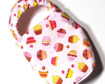Cupcake Slippers Child M
