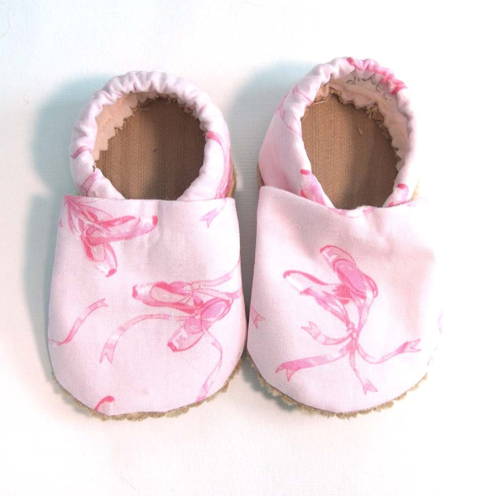 ballet soft soled baby shoes 0-6 mo