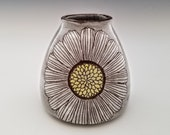 Ceramic Bud Vase, Bottle Vase, Modern Pottery