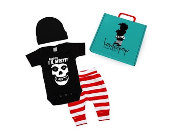 44a58572e6e3d ROCKSTAR BABY KIT Daddy's Lil Misfit Pants Set & optional gift box