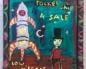 Rocket Ship 4 Sale