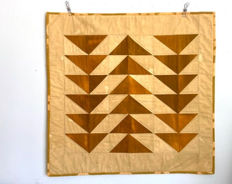 Which Way Hand Dyed Cotton Modern Quilt