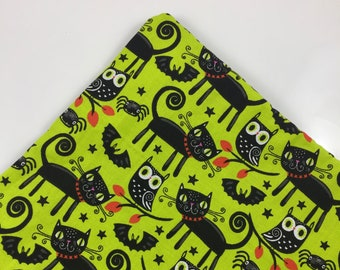 Black Cats And Pals Halloween Organic Catnip Mat Toy By For Mew, Refillable, Washable, Cat Bed, Cat Furniture, Gift For Cat Lovers