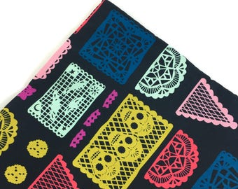 Day Of The Dead Papel Picado Organic Catnip Mat By For Mew, Cat Toy, Refillable, Gift For Cat Lovers