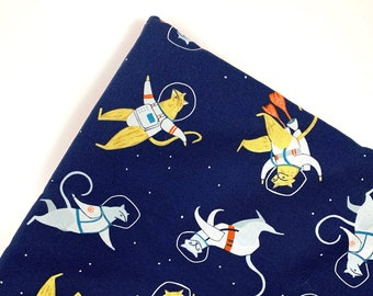 Space Cats Organic Catnip Mat Toy By For Mew, Refillable, Washable, Cat Bed, Cat Furniture, Gift For Cat Lovers, Neko