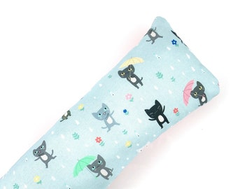 Cats In The Rain Kick-It Crinkle Organic Catnip Cat Toy For Mew, Kicker, Gift For Cat Lover, Kicker