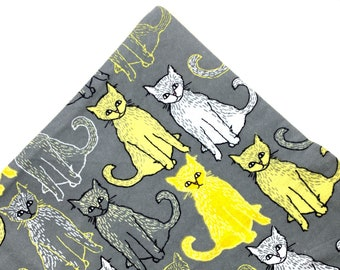 Kitty Cats Organic Nip Mat Toy By For Mew, Refillable, Washable, Cat Bed, Cat Furniture, Gift For Cat Lovers
