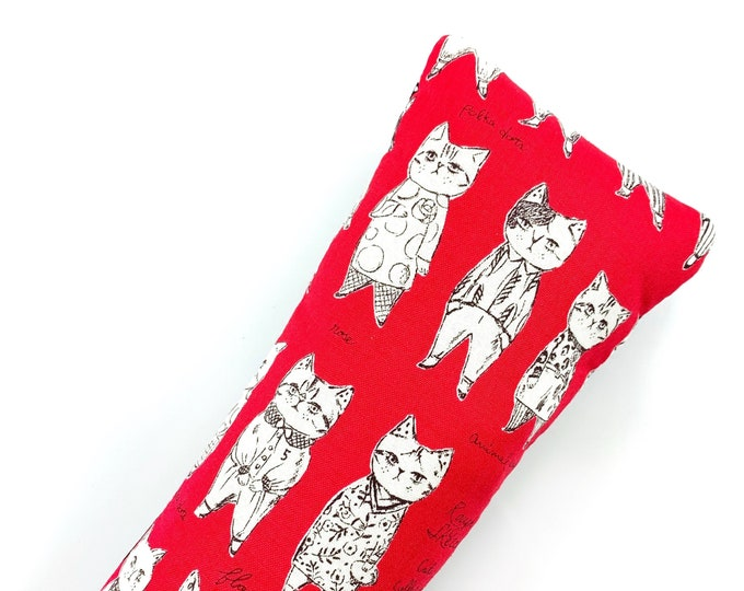 Featured listing image: Dapper Cats Kick-It Crinkle Organic Catnip Cat Toy For Mew, Kicker, Gift For Cat Lover, Kicker