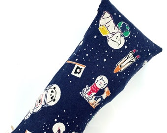 Cats And Friends In Space Kick-It Crinkle Organic Catnip Cat Toy For Mew, Kicker, Gift For Cat Lover, Kicker