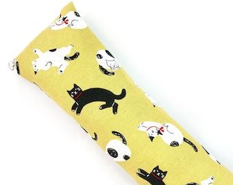 Kitty Cats Kick-It Crinkle Organic Catnip Cat Toy For Mew, Kicker, Gift For Cat Lover, Kicker