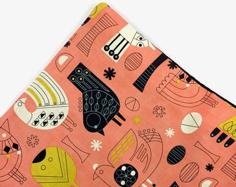 Birdies Organic Catnip Mat Toy By For Mew, Refillable, Washable, Cat Bed, Cat Furniture, Gift For Cat Lovers, Neko