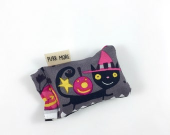 Cat Witch Green Bean Organic Eco Friendly Catnip Cat Toy For Mew, Gift For Cat Lover