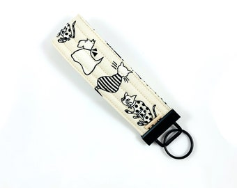 Cats And Dogs Key Fob For Mew