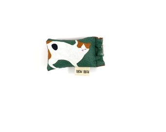 Calico Cat Green Bean Organic Catnip Eco Friendly Cat Toy For Mew, Gift For Cat Lover
