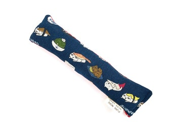 Sushi Cats Crisp Organic Silver Vine Catnip Blend Crinkle Kicker Cat Toy by For Mew