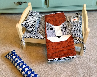 Wild Cat Quilt And Mattress Set By For Mew, Ikea Cat Doll Bed Bedding, Cat Lover