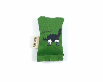 Little Cat Green Bean Organic Eco Friendly Catnip Cat Toy For Mew, Gift For Cat Lover