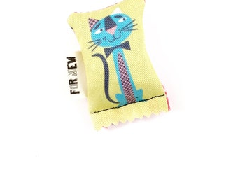 Fancy Cat Green Bean Organic Silver Vine Catnip Blend Eco Friendly Cat Toy For Mew, Gift For Cat Lover