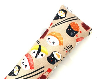 Sushi Kick-It Crinkle Organic Catnip Cat Toy For Mew, Kicker, Gift For Cat Lover, Kicker