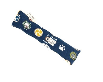 Taiko Festive Cats Crisp Organic Catnip Crinkle Kicker Cat Toy by For Mew