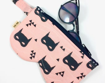 Cat Masks Eyeglass Case By For Mew, Cat Lady Cat Lover Gift