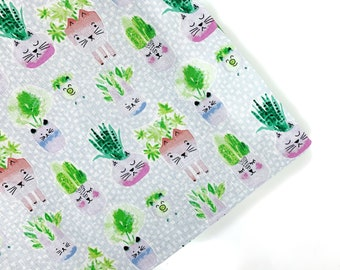 Cats And Pals Planters Organic Catnip Mat Toy By For Mew, Refillable, Washable, Cat Bed