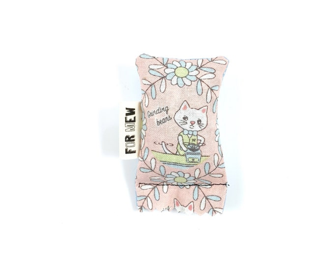 Featured listing image: Coffee Cat Green Bean Organic Catnip Eco Friendly Cat Toy For Mew, Gift For Cat Lover