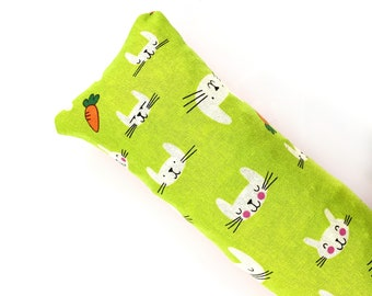 Cats And Bunnies And Carrots Kick-It Crinkle Organic Silver Vine Catnip Blend Cat Toy For Mew, Kicker, Gift For Cat Lover, Kicker