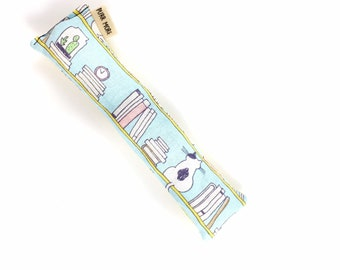 Cats And Books Crisp Organic Catnip Crinkle Kicker Cat Toy by For Mew, Cat Lover, Cat Lady, Cat Gift
