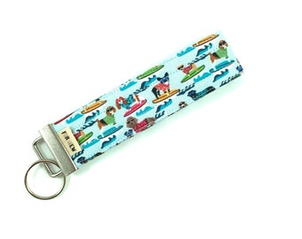 Surfing Dogs Key Fob For Mew