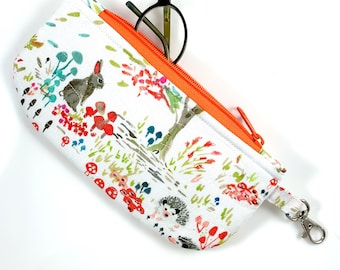 Forest Animals Eyeglass Case By For Mew