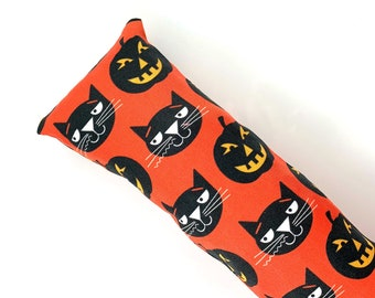 Black Cats And Jack-O-Lanterns Kick-It Crinkle Organic Silver Vine Catnip Blend Cat Toy For Mew, Kicker, Gift For Cat Lover, Kicker