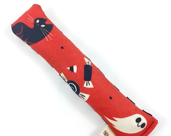 Trick Or Treat Kitty Organic Catnip Crinkle Kicker Cat Toy by For Mew