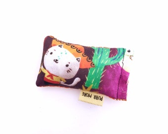 Sombrero Cat Green Bean Organic Eco Friendly Silver Vine Catnip Blend Cat Toy For Mew, Gift For Cat Lover