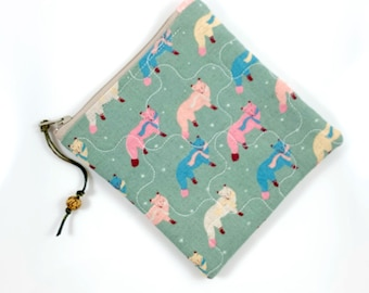 Foxy Zipper Pouch By For Mew, Animal Lover Gift
