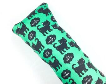 Rude Black Cats Kick-It Organic Crinkle Catnip Cat Toy For Mew, Kicker, Gift For Cat Lover, Kicker