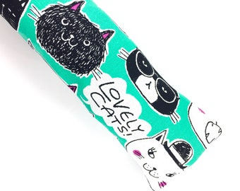 Lovely Cats Kick-It Organic Catnip Cat Toy For Mew, Kicker, Gift For Cat Lover, Kicker