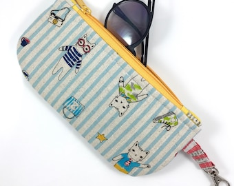 Cat Culture Eyeglass Case By For Mew, Cat Lady Cat Lover Gift