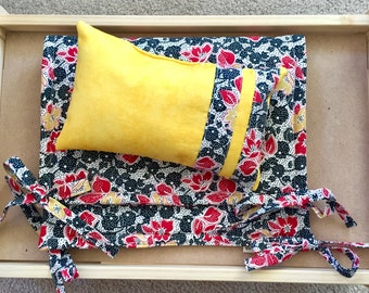 Flowers  Mattress And Pillow Set By For Mew, Ikea Cat Doll Bed Bedding, Cat Lover