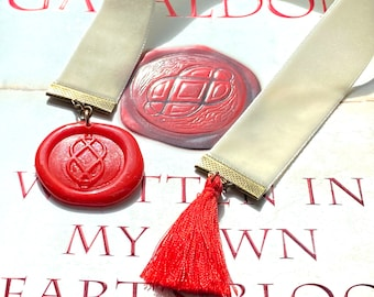Bookmark, Outlander, Written in my own hearts blood, Outlander, celtic  knot, MOBY, Scotland, celtic, handmade