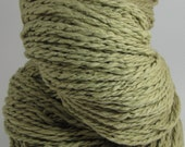 Hand Spun Natural Yarn -- Organic Desert --  Organic Cotton, 188 yards, 4.1 oz