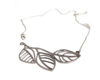 SALE leaf necklace