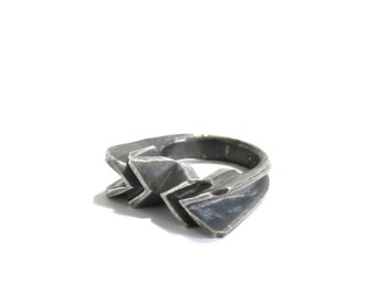 SALE ring a day 067 : folded X