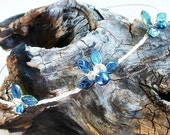 Blue Fairy Princess Tiara Circlet Crown