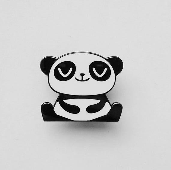 Happy Panda - Enamel Pin Badge