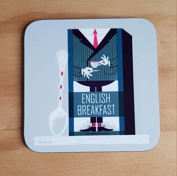 English Breakfast Tea coaster