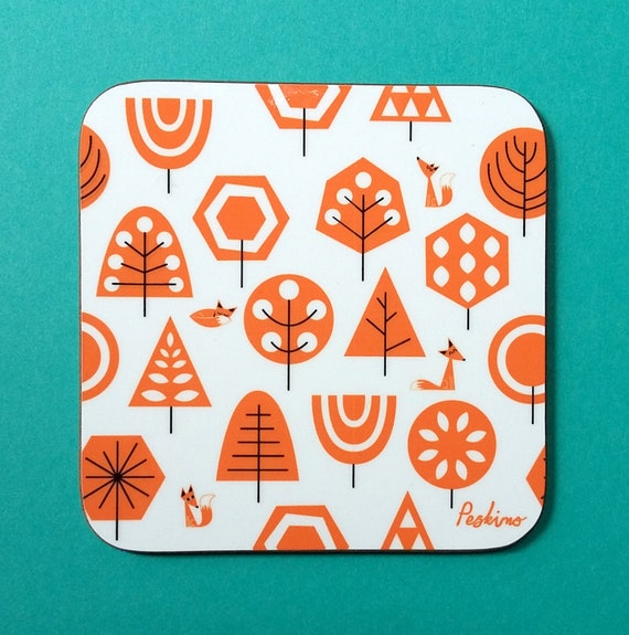 Foxy Forest Coaster